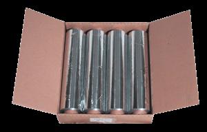 Boxen met meerdere folierollen