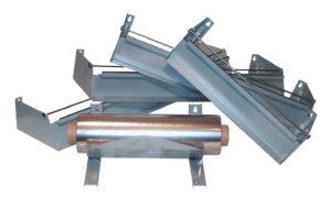 Dispenser van staal